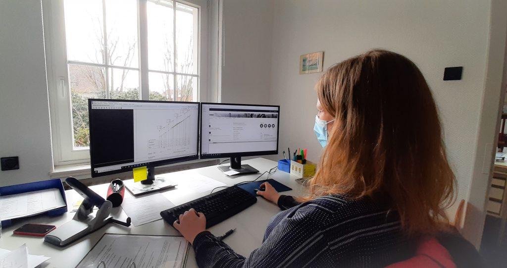 Ausbildung bei den Kirchner-Ingenieuren: Lea Gerlach im Interview