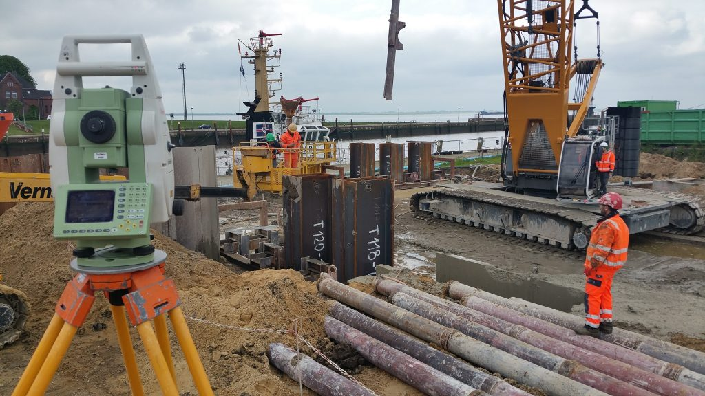 Was ist die Aufgabe der Vermesser? Die Schleuse des Nord-Ostsee-Kanals in Brunsbüttel - Teil 2